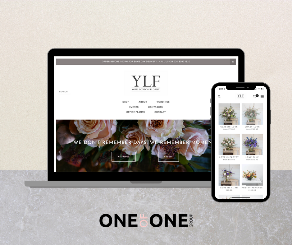 Your London Florist Website Design
